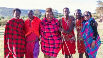 Masai Mara Tribe
